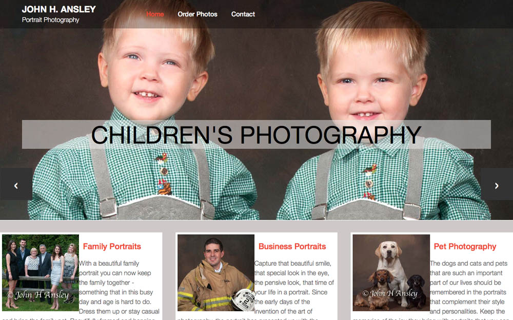 photographer website 1k